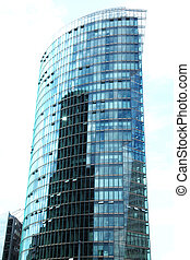 Tower Potsdamer Platz Berlin - one of the towers at the...