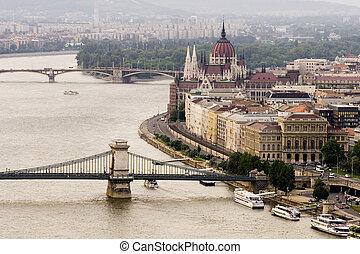 Budapest - Panoramic View of Budapest, Hugary