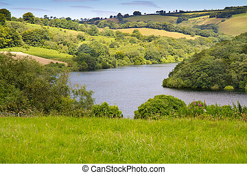 Clatworthy Reservoir Exmoor Park - Clatworthy Reservoir in...