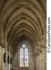 Gace - Church interior - Gace (Orne, Basse Normandie,...