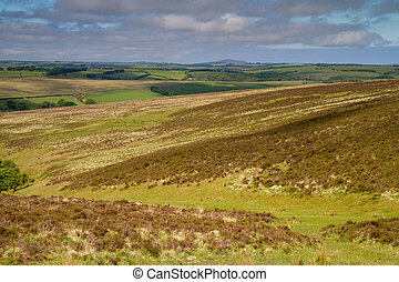 Exmoor National Park Devon - Exmoor National Park near...