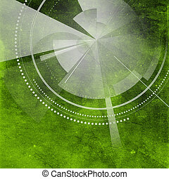 Retro Modern Background - Old paper background with circular...