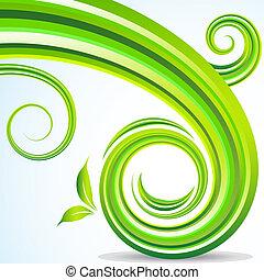 Energy Swoosh - An image of an energy swoosh