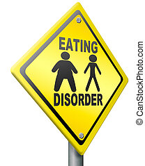 mangiare, disordine, anoressia, obesità