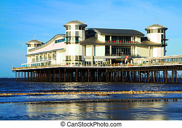 Grand Pier Weston-super-Mare Somerset rebuilt following the...