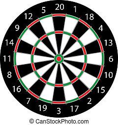 DartsBoard - Classic Darts Board
