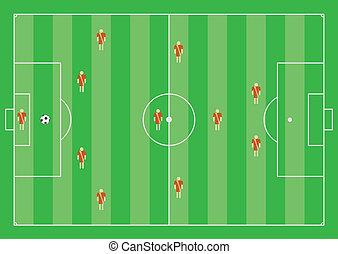 4-3-1-2 soccer scheme - 4-3-1-2 soccer tactical scheme