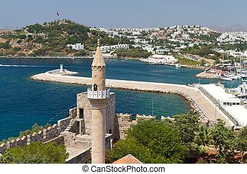 Bodrum Town from Mugla, Turkey
