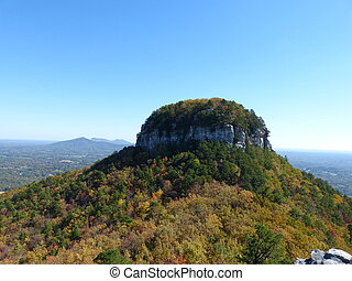 Pilot Mountain - The knob of pilot mountain