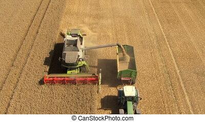 aerial harvesting.
