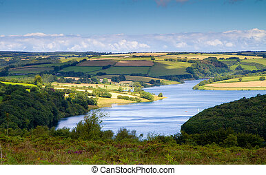 Wimbleball Lake Exmoor England - Wimbleball Lake Exmoor...