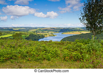 Wimbleball Lake Exmoor Somerset - Wimbleball Lake Exmoor...