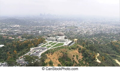 Los Angeles Samuel Oschin Aerial