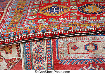 collection of oriental carpets and precious Persians for...