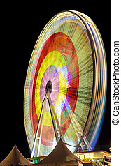 Marksmen festival Hannover, Germany - Ferris wheel at the...
