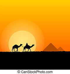 Hot African Scenery