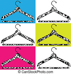 clothes hanger illustration