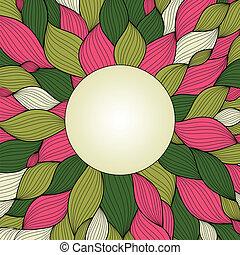Elegance invitation card - color template frame design for...