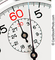Stopwatch - Close-up Of Stopwatch