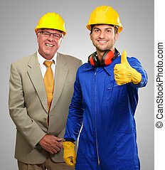 Two Architect Engineers