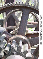 gears - close up of gears