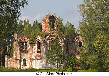 Church Panteleimon Church. Lykoshino, Tver region. The...