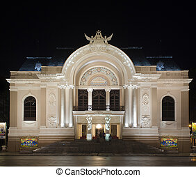 opera house saigon - opera house of Saigon Captial of...