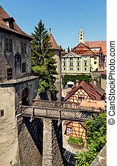 Meersburg, Germany - Beautiful ancient city Meersburg at...