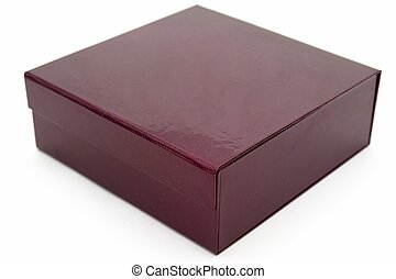 perilla purple fancy box on a white background