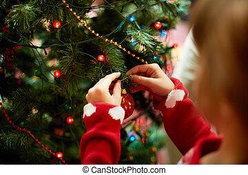 Versiering, Kerstmis, boompje