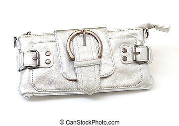 Modern silver clutch purse - Modern luxury antique look matt...
