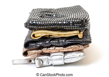 Selection of evening bags