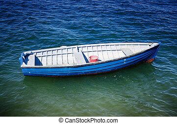 fishing boat in Melbourne.Australia