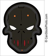 Bad Masked Tattoo Mascot Vectors - Creative Abstract...