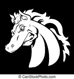 Horse Vector Tattoo