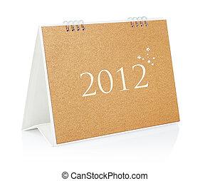 Empty calendar 2012