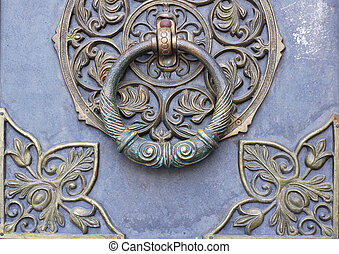 doorknocker - Bronze doorknocker