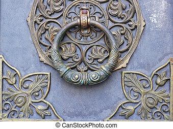 doorknocker - Bronze doorknocker
