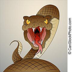 wąż, Wektor