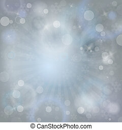 Winter abstract background