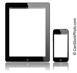Smart Phone and tablet pc-vector
