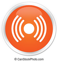 Network signal orange button