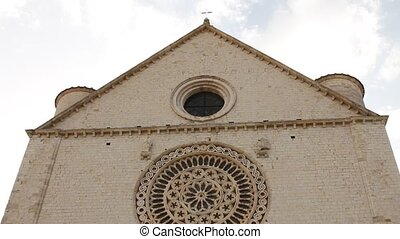 Basilica of San Francesco in Assisi - The Basilica of San...