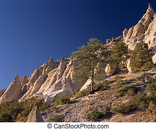 Tent Rocks NM - late afternoon light appears magical