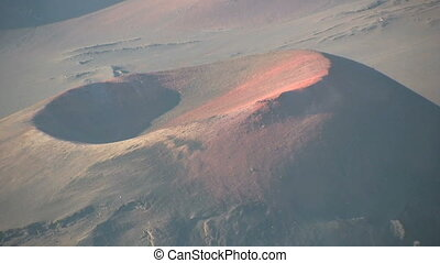 Haleakala Crater Maui - a zoom out shot of haleakala crater...
