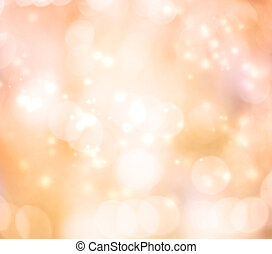 Abtract Ligths Background (Glowing Pale Orange) - Abtract...