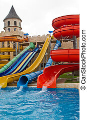 Water Park - great color slides at a water park in the...