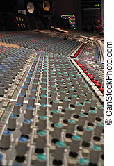music recording board