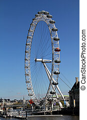 London Eye - The London Eye, erected in 1999, is a giant...