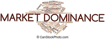 Market Dominance - Abstract word cloud for Market Dominance...
